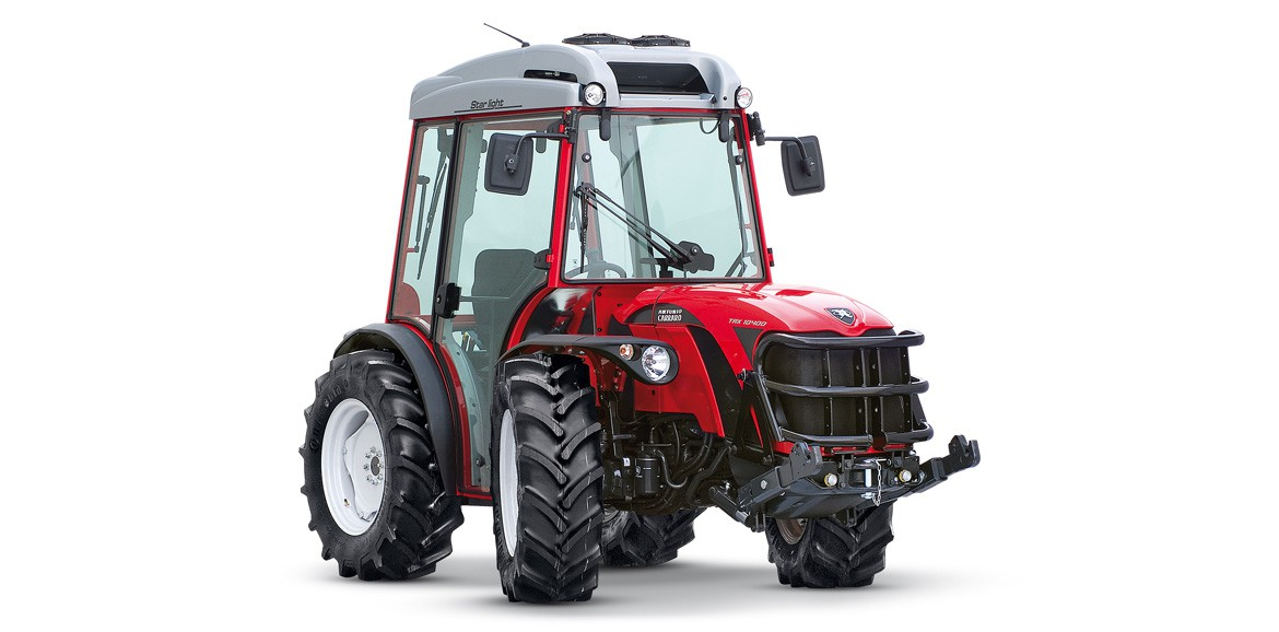 Antonio Carraro | Starlight cab for TRX Ergit 100 tractor