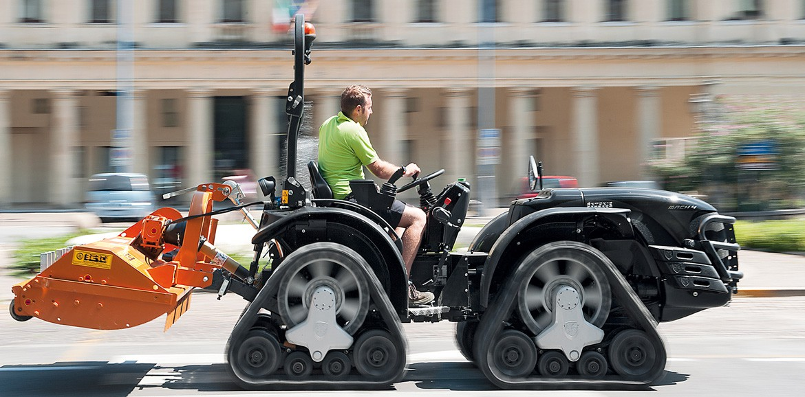 Antonio Carraro | Mach 4 Tractor | Homologated on road up to 40 km/h