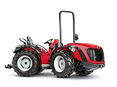 Antonio Carraro SRH 9800 Infinity, isodiametric articulated reversible tractor with hydrostatic continuous speed variation transmission