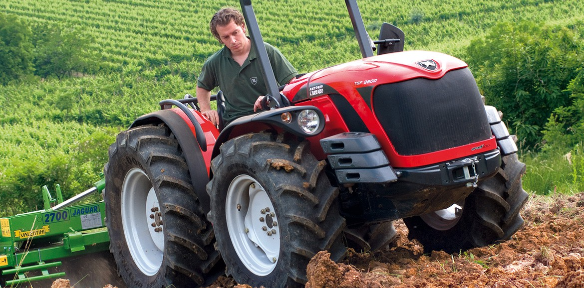 Antonio Carraro | TGF 9900, super low profile tractor