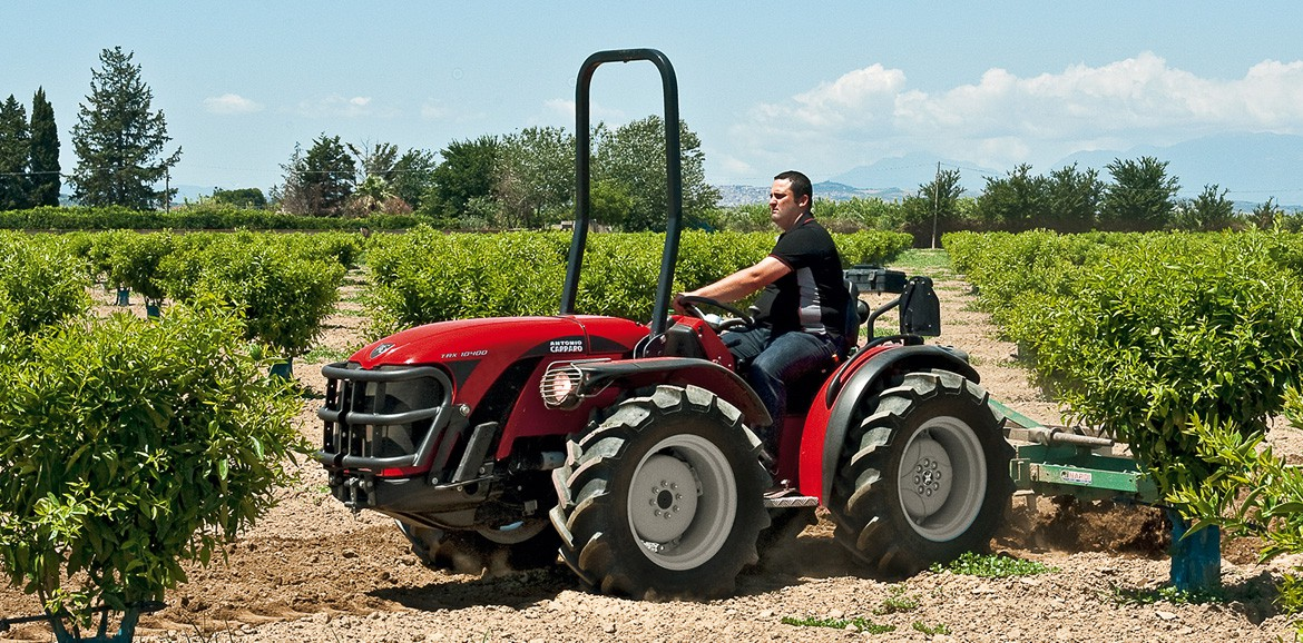 "Antonio Carraro | TRX 9900, the specialized ""tailored"" tractor"