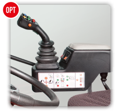Antonio Carraro | Options | Joystick TTR hydraulic system control