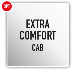 Antonio Carraro | Options | Extra Comfort Closed cab for TTR Ergit 100 7800 10900