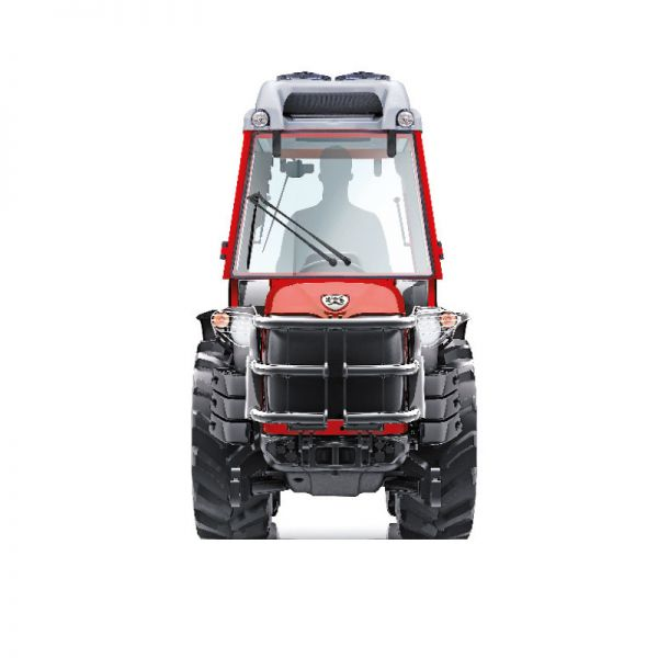 Narrow articulated tractor