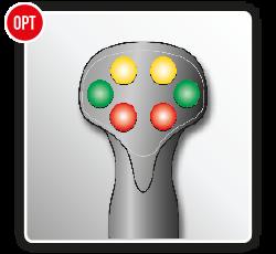 Antonio Carraro   Joystick on-off per trx 6400, sospensione idraulica Uniflex