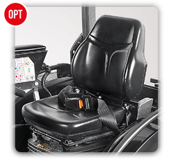 Antonio Carraro | Options | Seat with pneumatic suspension