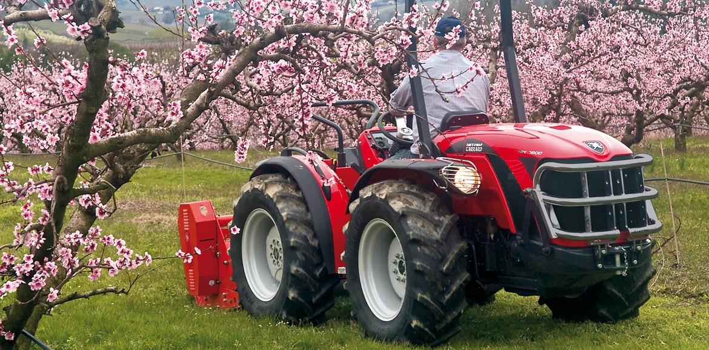 Antonio Carraro Tractors Trx Tx Ergit S
