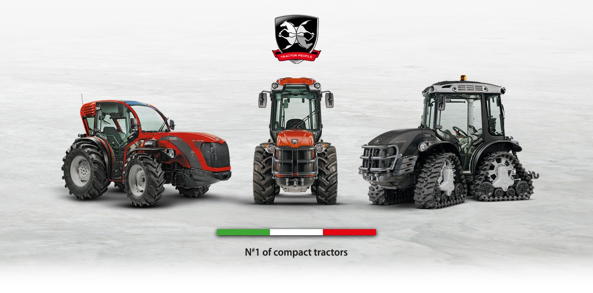 Antonio Carraro, italian company leader in the production of compact tractors for specialized agriculture