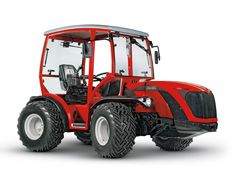 Antonio Carraro, tractors: TTR 7600 Infinity Wide track reversible drive tractor with hydrostatic transmission