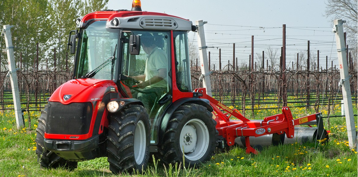 Antonio Carraro, tractors: SRX 10900 R with AIR cat.4 pressurized ROPS FOPS cab