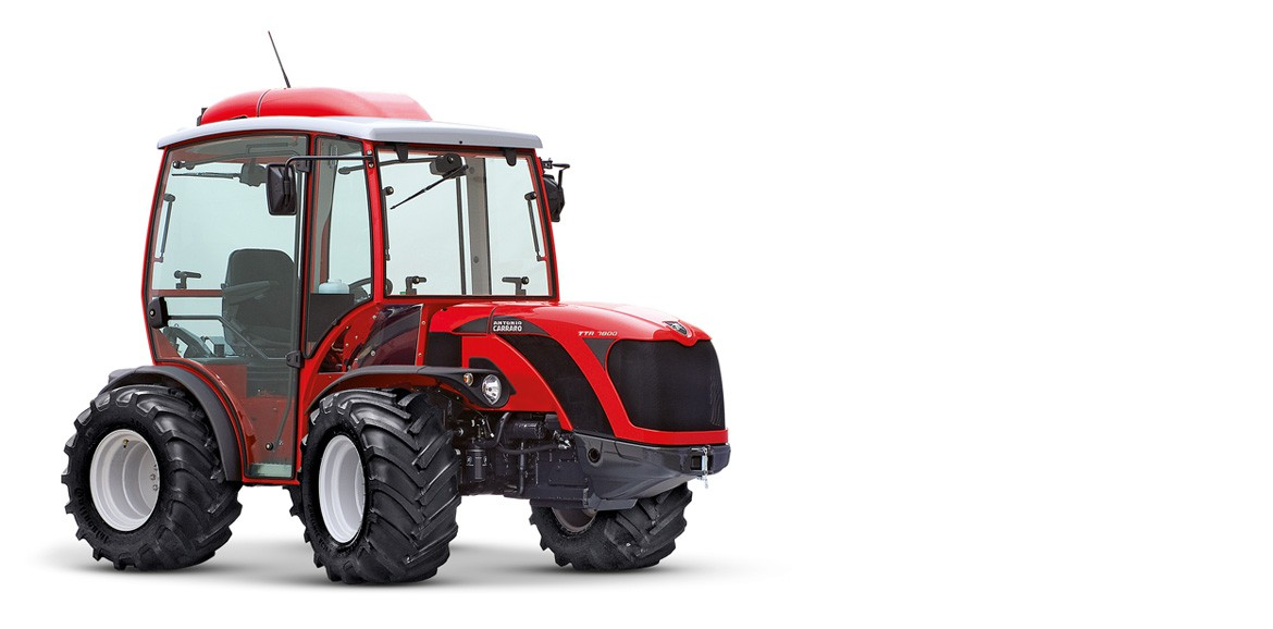 Antonio Carraro, tractors: TTR 10900 R, isodiametric reversible for haymaking