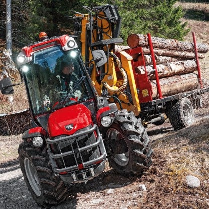 Antonio Carraro Tony 10900 TR, steering
