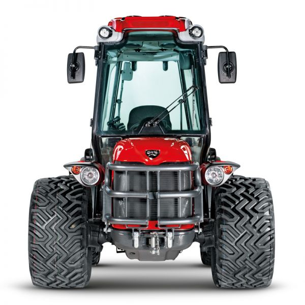 Compact reversible tractor