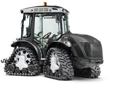 tractors: Mach 4 R, articulated reversible quadtrack - rubber tracks