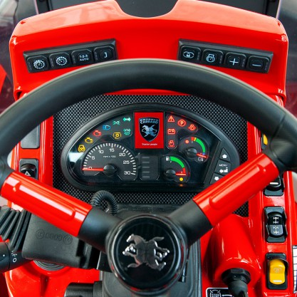 Antonio Carraro, tractors: TTR 7600 Infinity, isodiametric steering reversible with hydrostatic transmission