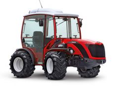 Antonio Carraro TTR Ergit 100, isodiametric reversible steering tractor, perfect for haymaking
