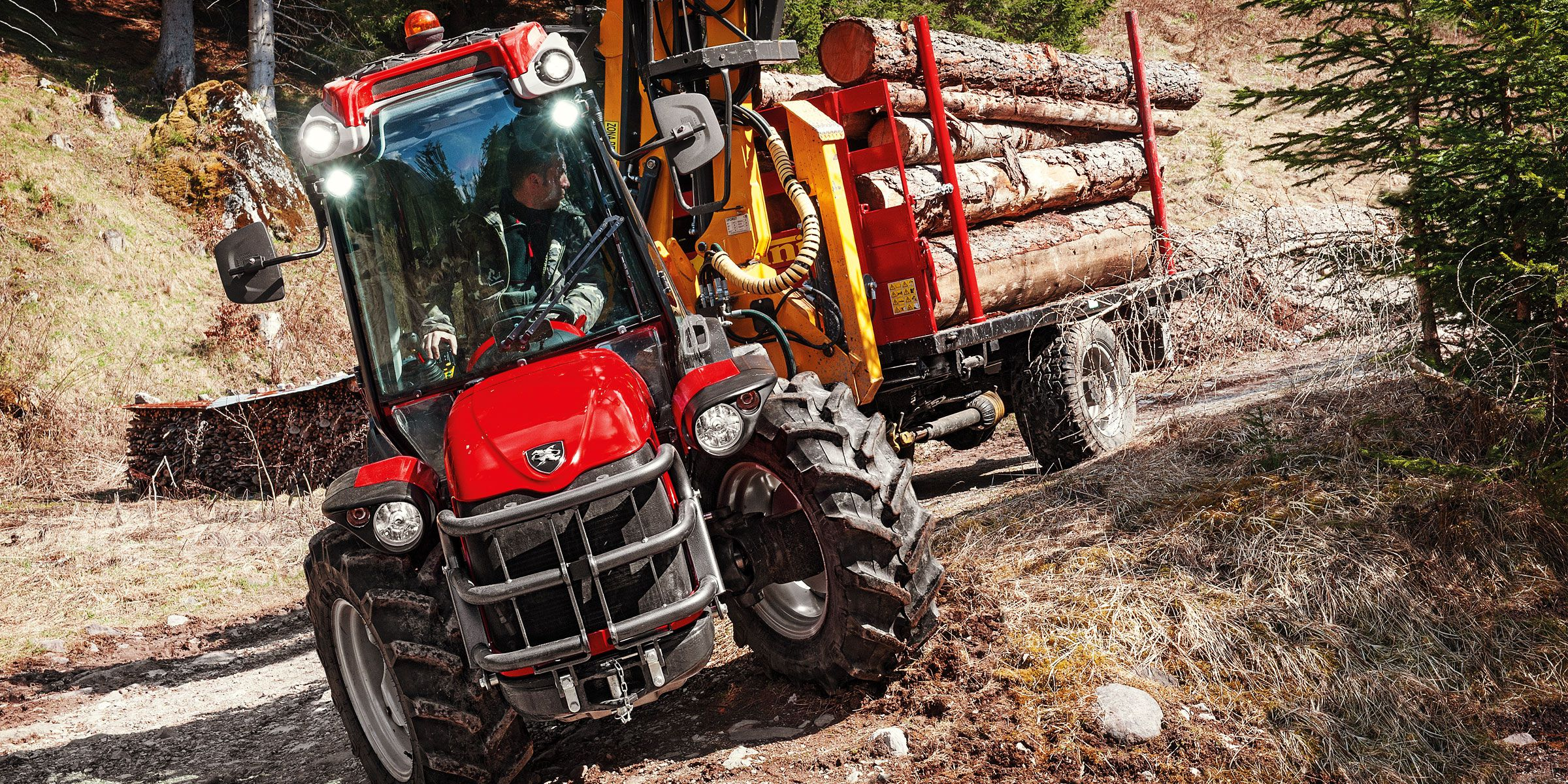 Antonio Carraro, tractors: Tony 10900 TR, isodiametric steering reversible hydrostatic, continuous speed variation transmission