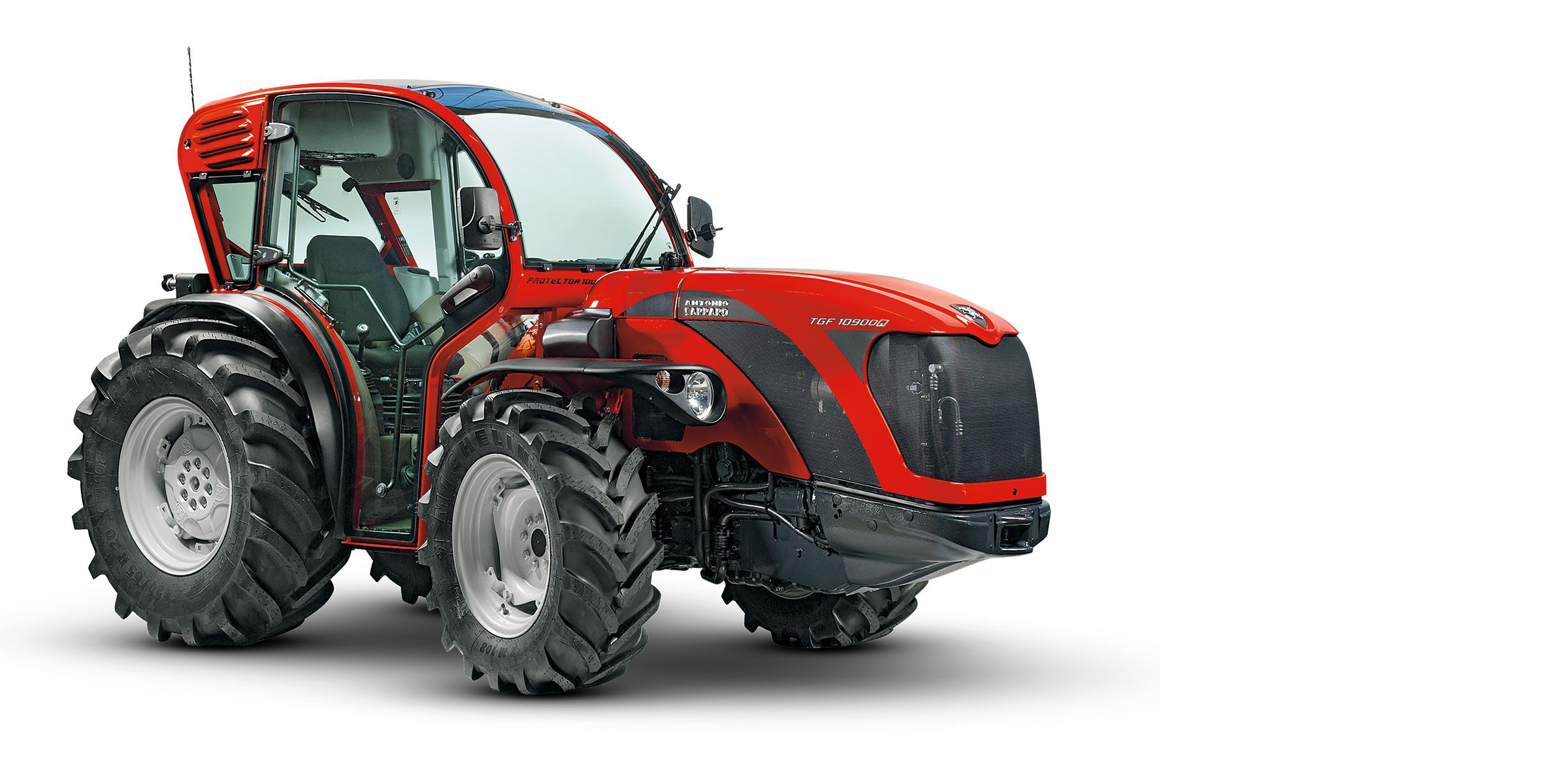 Low centre of gravity tractor