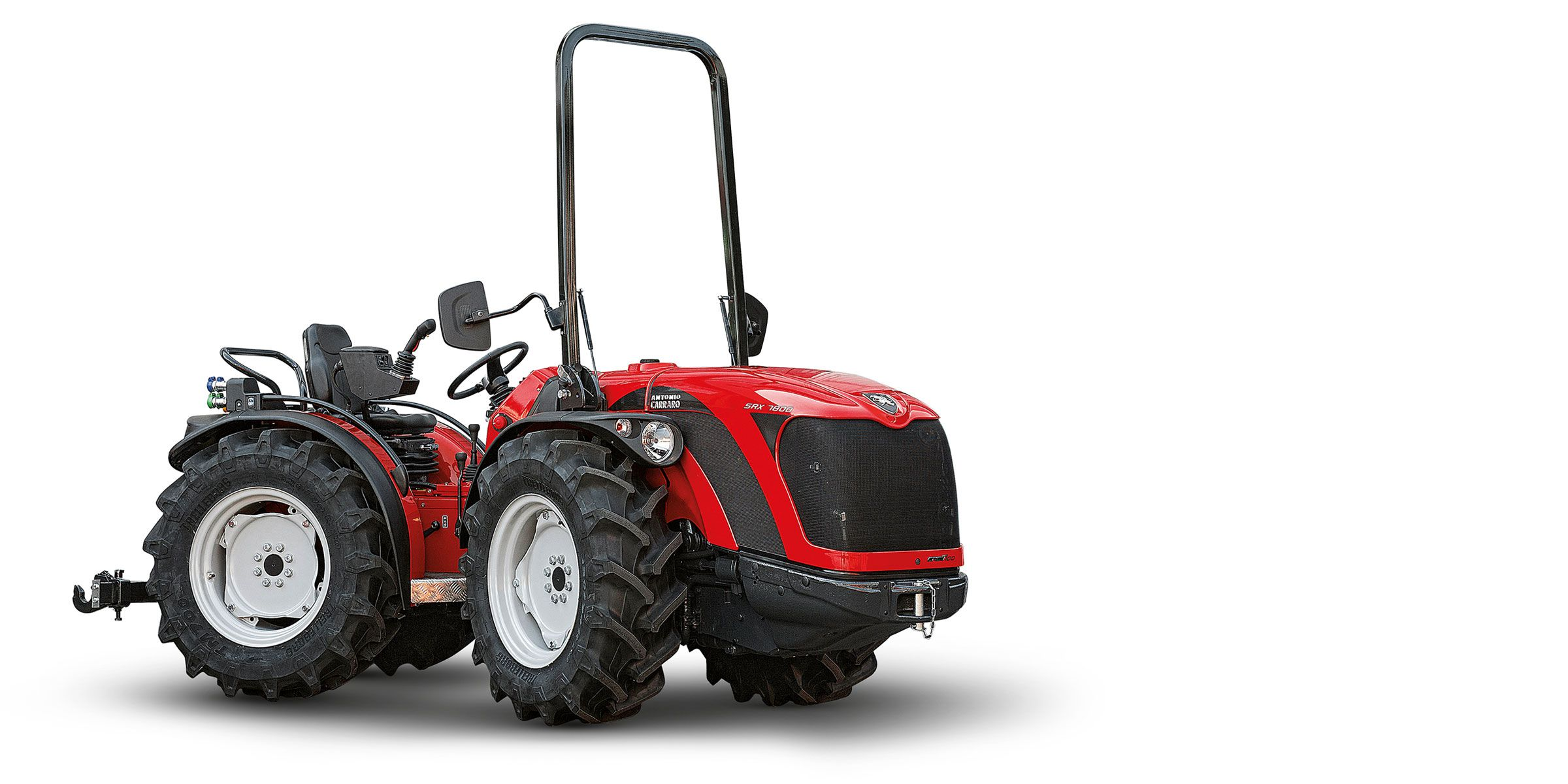Antonio Carraro | SRX Ergit 100, isodiametric reversible tractor with articulated chassis.