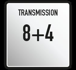 Antonio Carraro | Trasmissione meccanica 8+4 Tigre